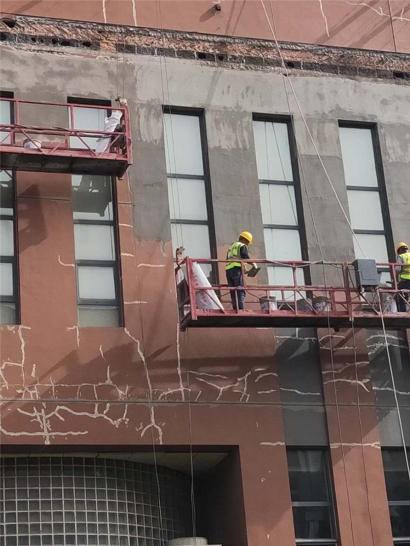 外墙翻新施工真石漆