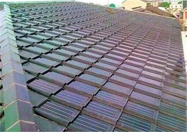 别墅翻新屋面太阳能瓦