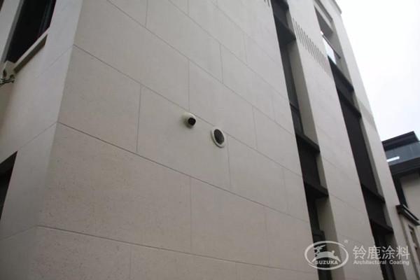 外墙石灰石涂料装修效果图