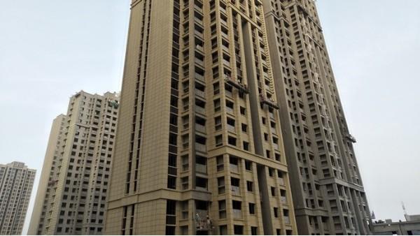 博赢天下——阳光城郑州丽景湾项目一期外墙保温及线条工程案例