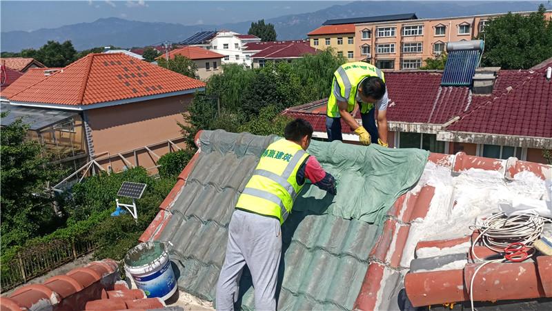 屋面防水施工中