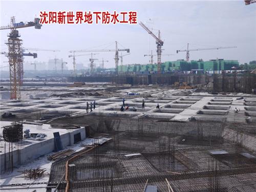 沈阳新世界中核防水LEAC涂料施工