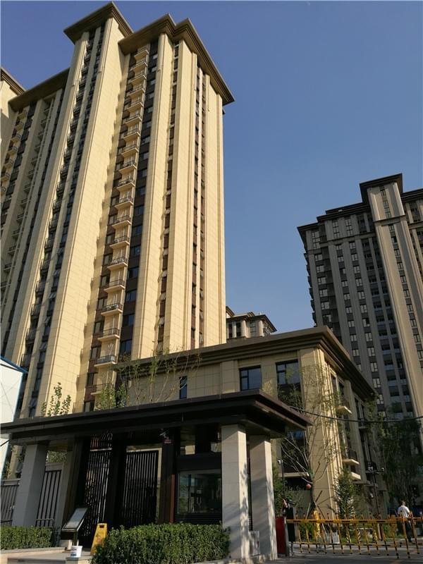 北京-真石漆-泰禾-西府大院装修项目-jx
